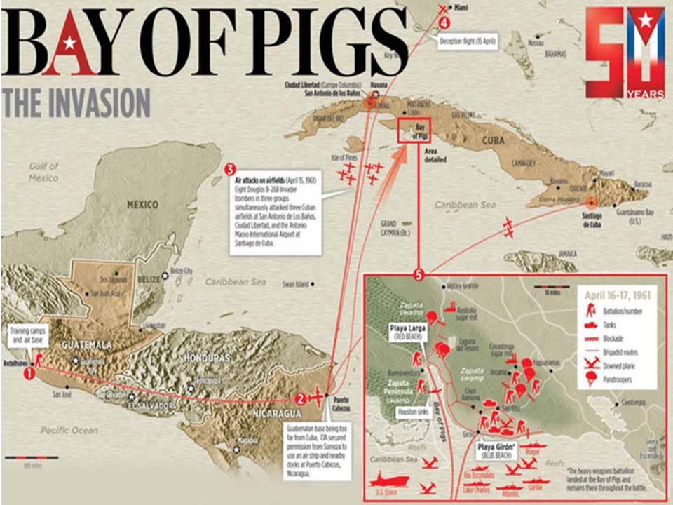 an overview of the story of the failed invasion of cuba at the bay of pigs To war during the failed invasion of cuba  the bay of pigs invasion plan from  inside and outside cuba keep up with this story and.